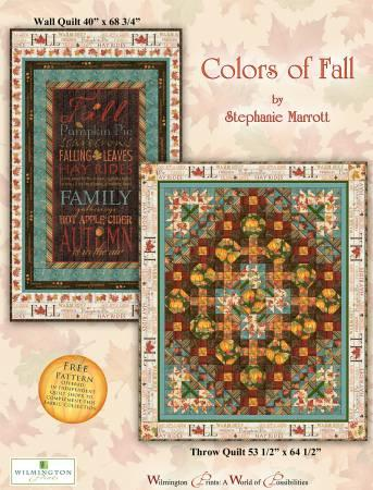 Colors of Fall Wilmington Fabrics