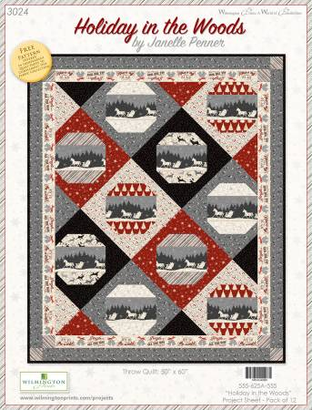 Holiday in the Woods Quilt Kit