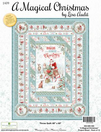 A Magical Christmas Quilt Kit