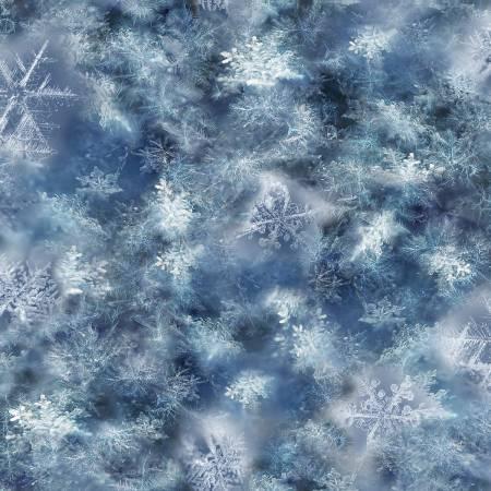 Blue Snowflakes - Digital