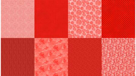 4 Fat Quarters per Yard - Ruby
