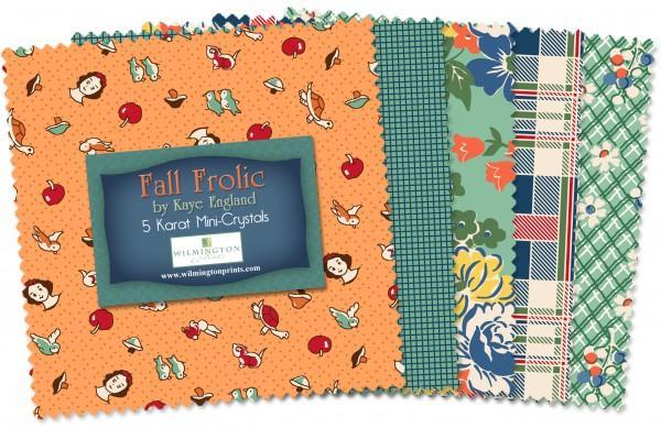 5in Squares Fall Frolic 24pcs/bundle