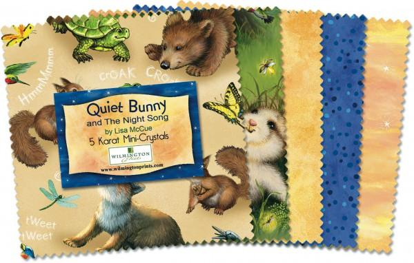 5in Squares Quiet Bunny & Night Song 24pcs