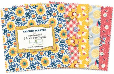 Chicken Scratch 5 square bundle