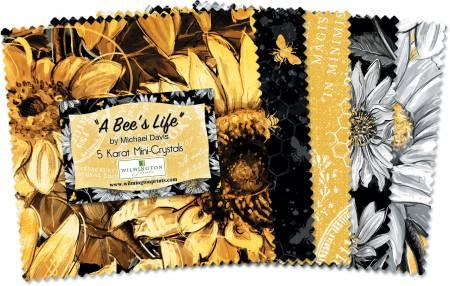 A Bee's Life 5in Squares  24pcs