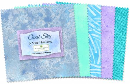 Opal Sky 5in Squares (24pcs)