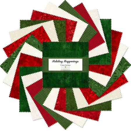 Essential Gems Holiday Happenings, 5-inch Squares, 24pcs