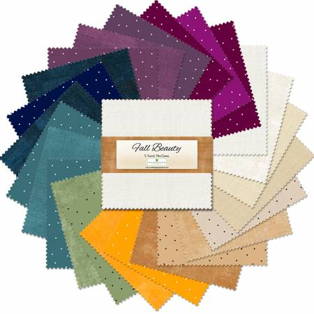 Fall Beauty Essential Gems 5in Squares