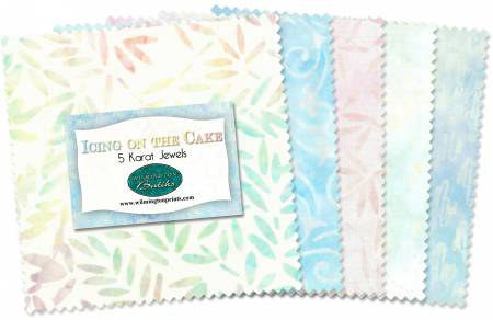 Wilmington Batiks - Icing on the Cake - jewel pack