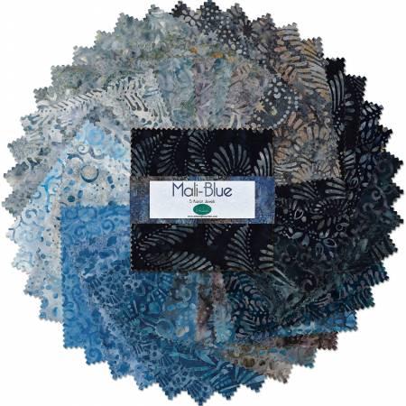 5 Charm Pack - Karat Jewels Mali-Blue 42pcs