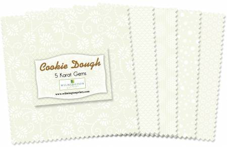 Wilmington 5 Charm Squares Cookie Dough 42pcs/bundle