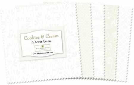5in Squares Cookies & Cream 42pcs/bundle