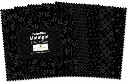 5in Squares Essentials Midnight 42pcs