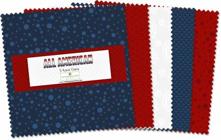 All American Cool 42pcs 5in Squares