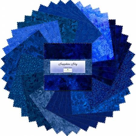 Sapphire Sky 5 squares 42pcs/bundle