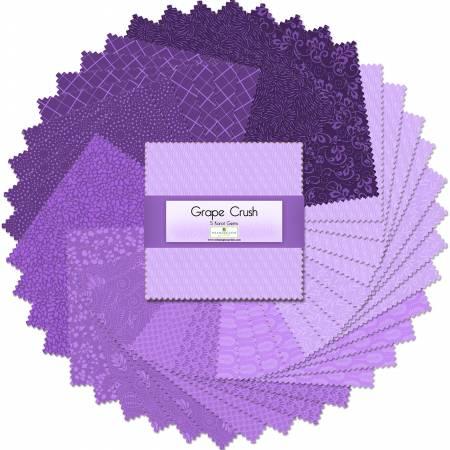 Grape Crush 5 Squares (42 pcs)