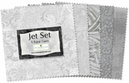 5in Squares Jet Set 42pcs/bundle, 12 bundles per pack