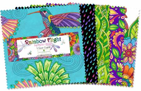 Wilmington Prints Rainbow Flight Q508 584 508