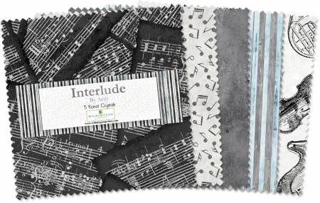 Interlude - 5in Squares, 42pcs