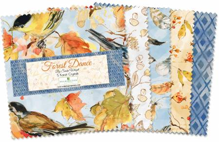 5in Squares Forest Dance 42pcs
