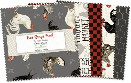 5in Squares Free Range Fresh, 42pcs