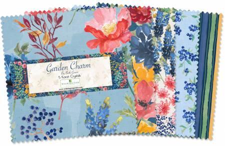 Garden Charm - 5 Squares