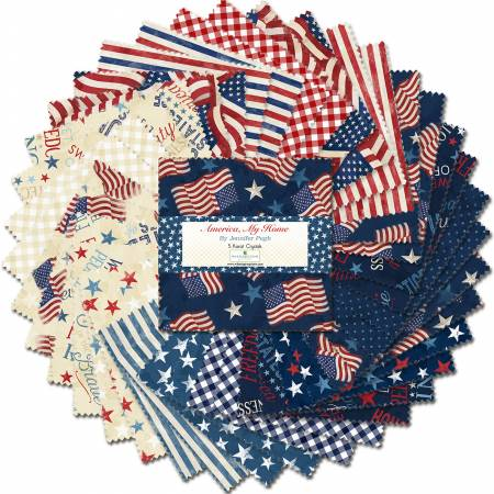 America My Home - 5 Karat Crystals (42pcs)