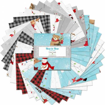 5 Charm Pack - Nose to Nose 42pcs