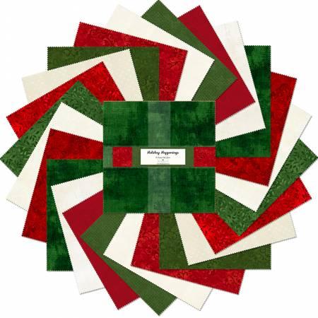 10 Squares Holiday Happenings, 24pcs