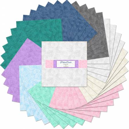 10in Squares Pixie Dust, 42pcs Q51256512