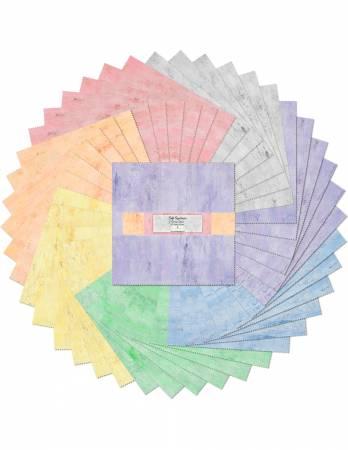 10 inch square 42 piece Soft Spectrum