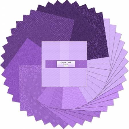 Grape Crush 10 Squares (42 pcs)