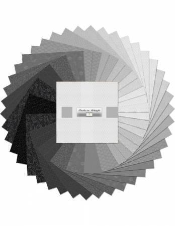 10in Squares Essentials Twelve to Midnight, 42pcs, 4 bundles/pack