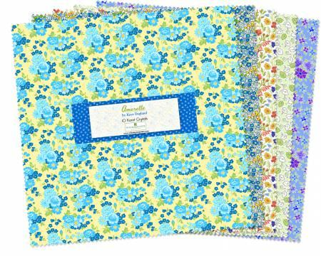 10in Squares Amorette 42pcs/bundle
