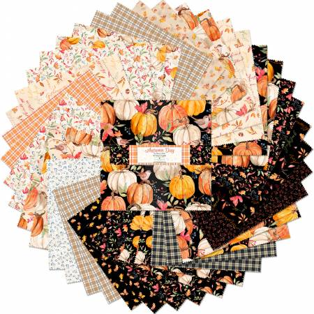 AUTUMN DAY-LAYER CAKE-10IN-42PCS