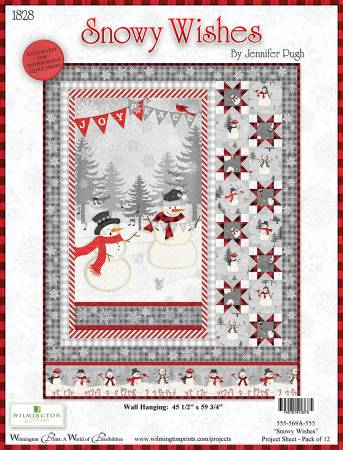 Project Sheet Snowy Wishes Wall Hanging, 12 per pack - copy