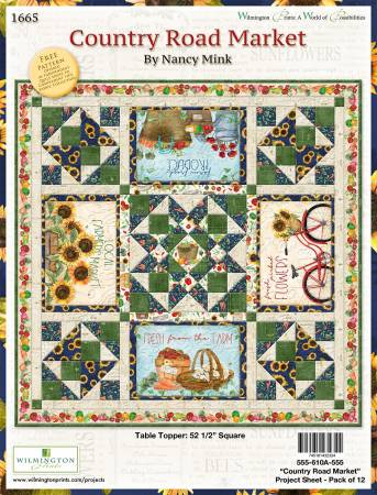 Country Road Market Table Topper  - Kit