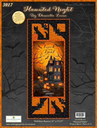 Haunted Night Wall/Door Banner Kit