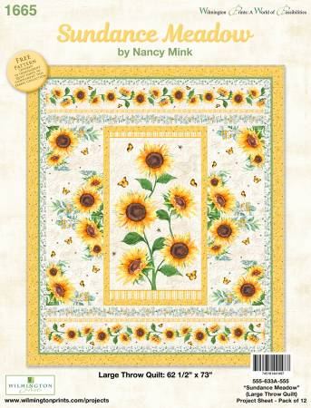 Sundance Meadow Large Throw Quilt Kit