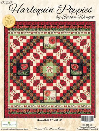Project Sheet Harlequin Poppies Kit
