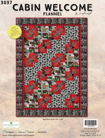 CABIN WELCOME QUILT KIT