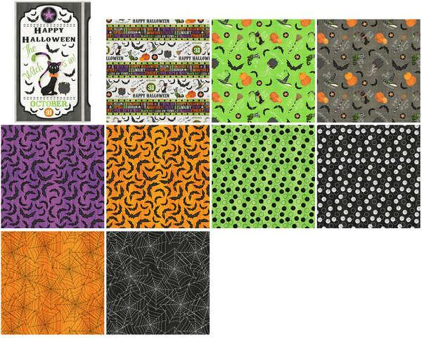 Wilmington Prints Assortment Every Witch Way 10pcs x 15yds