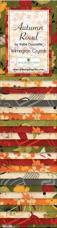 2-1/2in Strips Autumn Road 24pcs/bundle, 6 bundles per pack