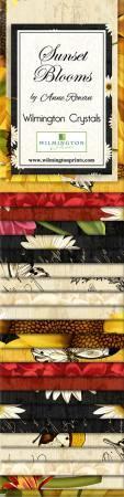 2-1/2in Strips Sunset Blooms 24pcs/bundle, 6 bundles per pack