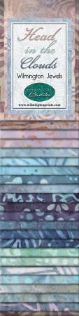 2-1/2in Strips Head in the Clouds Batik 24pcs/bundle, 6 bundles per pack