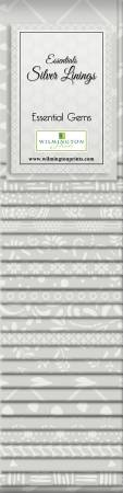 2-1/2in Strips Silver Linings 24pcs