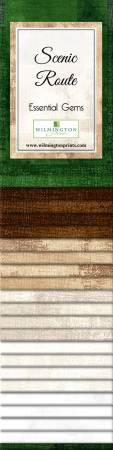 2-1/2in Strips Essential Gems Scenic Route 24pcs