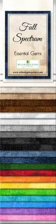 2-1/2in Strips Essential Gems Full Spectrum 24pcs