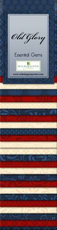 Essential Gems Old Glory 2-1/2in Strips 24pcs