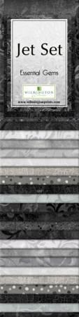 Essential Gems Jet Set  2-1/2in Strips (24 pcs)